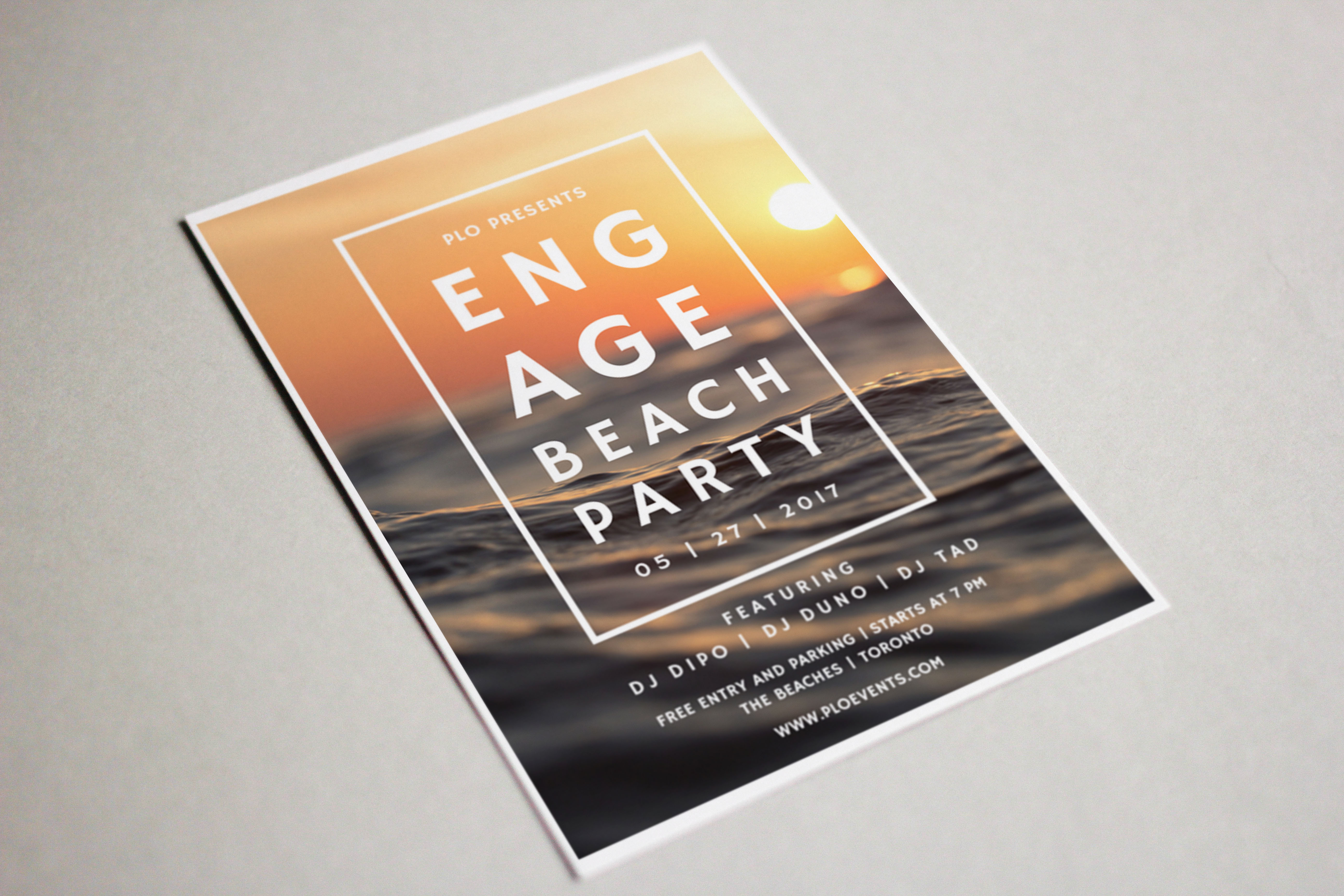 Engage Beach Party