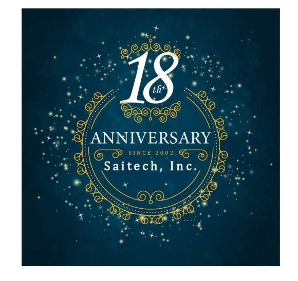18 years anniversary Saitech