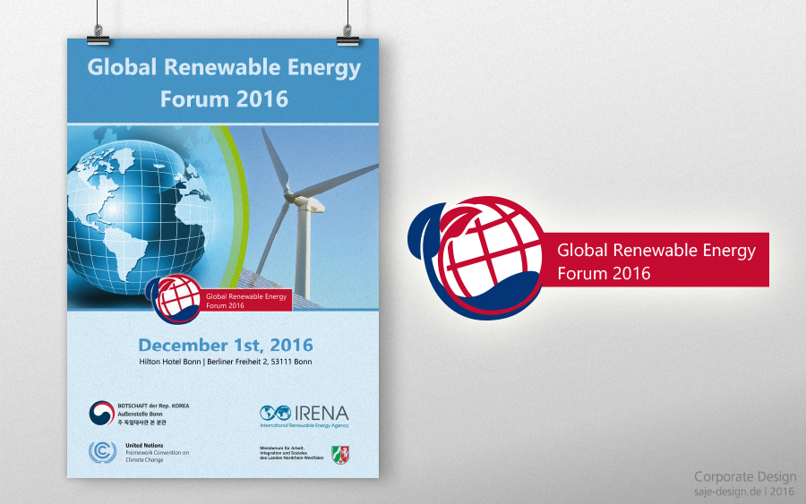 Koreanische Botschaft Bonn: Global Renewable Energy Forum 2016