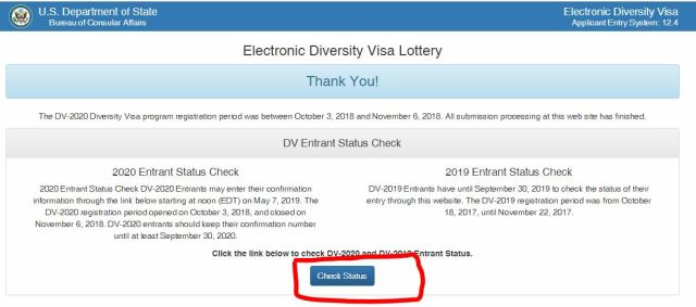 Entrant Status Check >> How To Check Dv Result 2020 Check Nepal Dv Result 2020