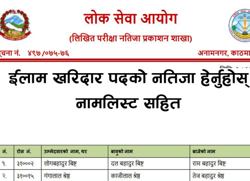 psc Ilam result, pcs Ilam result 2076, Ilam result 2076, lok sewa Ilam result 2076, lok sewa aayog Ilam result 2076, psc Ilam result 2075, psc kharidar Ilam result 2075, kharidar result 2075, Ilam kharidar result 2075, first paper kharidar result 2075, first paper loksewa kharidar result 2075, kharidar result 2075, lok sewa aayog kharidar result 2075, karidar result first paper, PSC kharidar result 2075, PSC Ilam kharidar result 2075, PSC first paper kharidar result 2075, PSC first paper loksewa kharidar result 2075, PSC kharidar result 2075, PSC lok sewa aayog kharidar result 2075, PSC karidar result first paper, kharidar result 2076, Ilam kharidar result 2076, first paper kharidar result 2076, first paper loksewa kharidar result 2076, kharidar result 2076, lok sewa aayog kharidar result 2076, karidar result first paper,