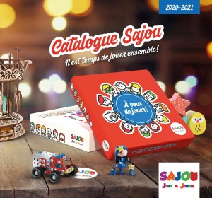 Couverture du catalogue Sajou 2020 2021