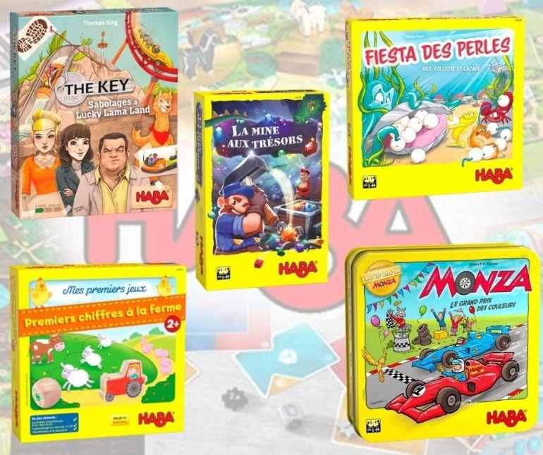 Nouveaux jeux Haba de novembre 2020