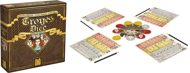 Le jeu de société Troyes Dice édité par Pearl Games