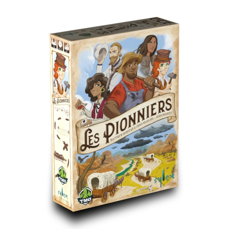 Le jeu de société Les Pionniers édité par Sylex