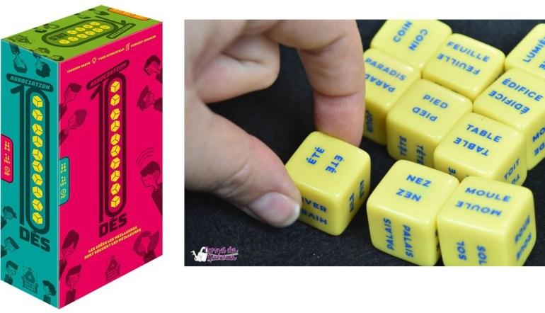 Le jeu Association 10 Dés édité par Act in Games