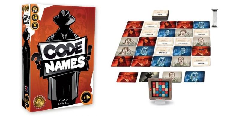 Le jeu Codenames édité par Iello