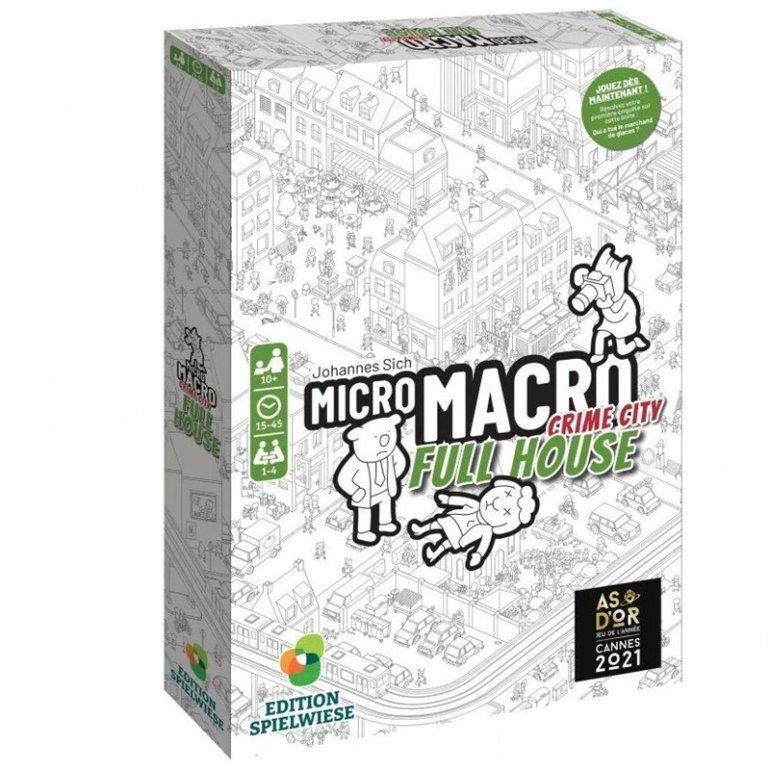 Le jeu Micro Macro Crime City 2 Full House édité en français par Blackrock