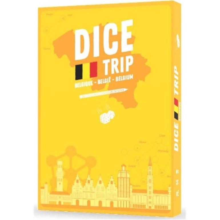 Le jeu de société Dice Trip Belgique édité par Helvetiq