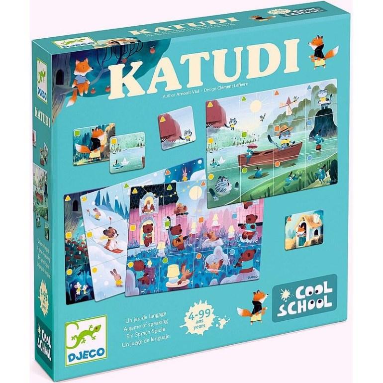 Katudi un nouveau jeu de société édité par Djeco