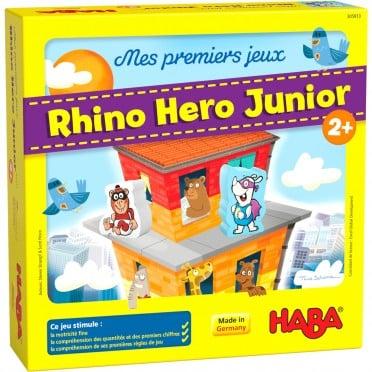 Le jeu de société Rhino Hero Junior de Haba