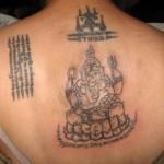 Sak Yant Pra Pikanes Ajarn Neng on Soi On Nuch in Bangkok