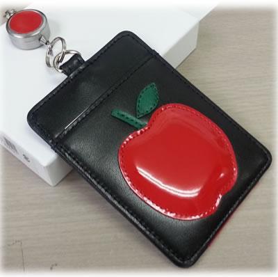 apple-1 リンゴの定期入れ