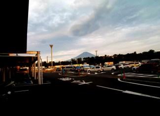 足利からの富士山