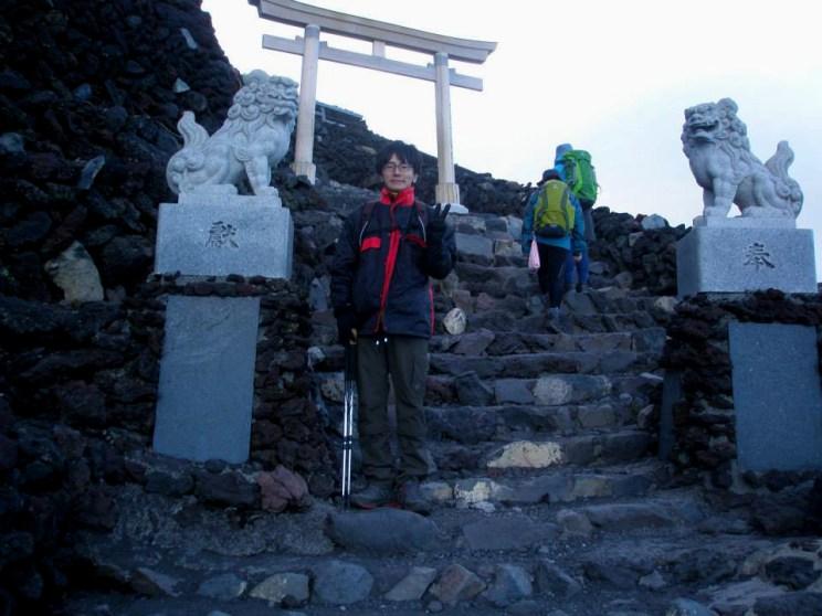 八木田さん登頂その1