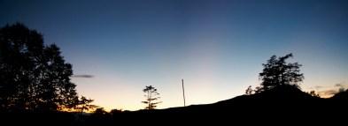 もうじき日が沈むぜ