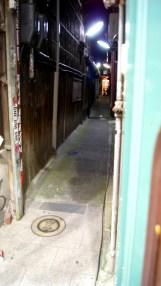 奈良の路地裏