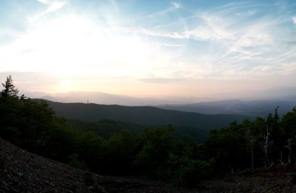 これがトンキ岩からの景色
