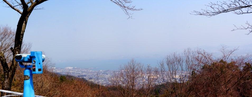 琵琶湖を一望!