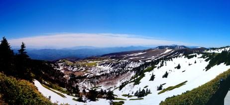 ここが渋峠の絶景