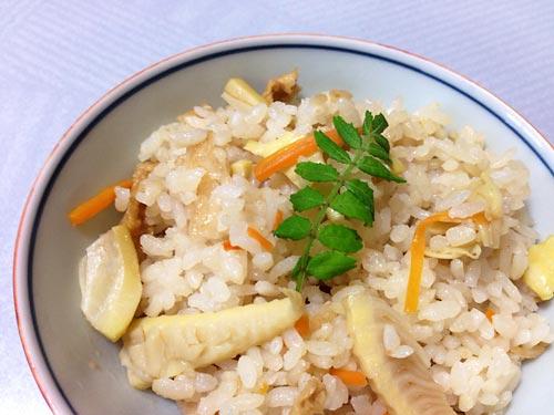 140509タケノコご飯