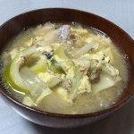 淡竹(ハチク) タケノコ汁と天ぷら