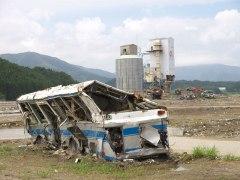 150311陸前高田つぶされたバス