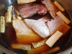 160307鯛のアラ煮06