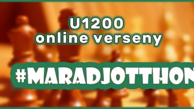 Photo of Indul a #maradjotthon U1200 online sakkverseny