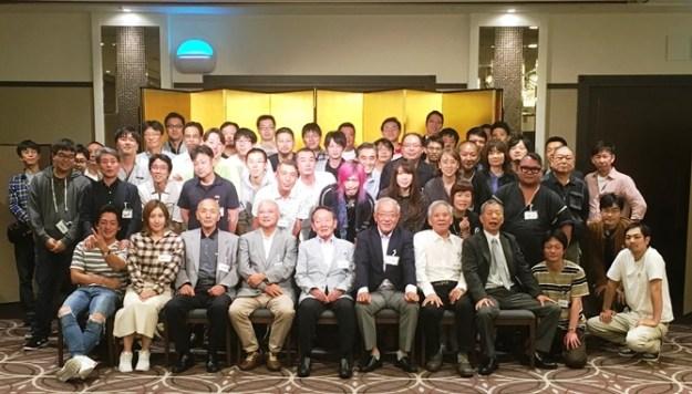 浅草ビューホテルでの55周年記念パーティー
