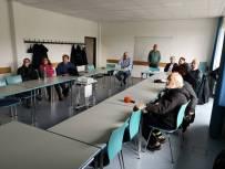 Diskussionsrunde im Freizeitheim Ricklingen