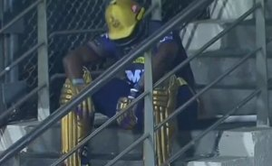 IPL 2021: Twitter Reacts To Andre Russells disappointed Picture
