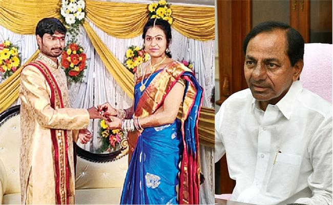 CM KCR Adopted Daughter Prathyusha Engagement With Charan Reddy - Sakshi