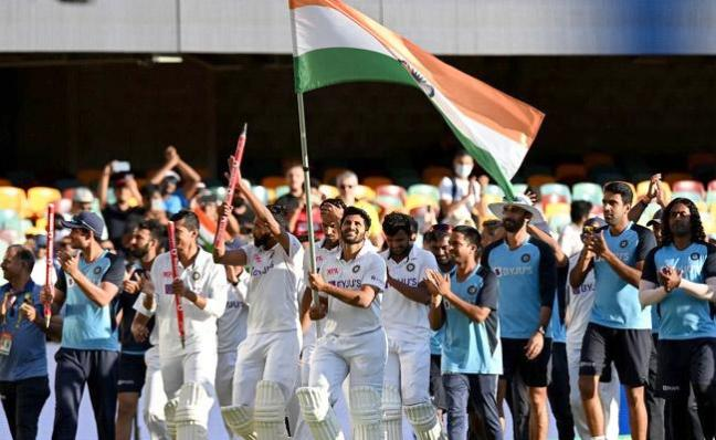 Team India Rewrites History By Massive Victory Breaking 32 Years Record - Sakshi