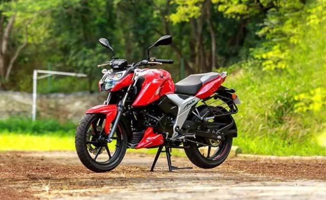 2021 TVS Apache RTR 160 4V launched Check price details - Sakshi