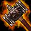 par's hammer(gold)
