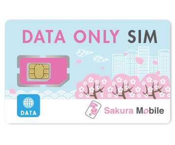 Sakura Mobile Travel SIM Card