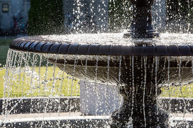 Noritake Garden Fountain