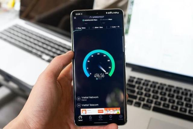 Connection speeds and allocated data