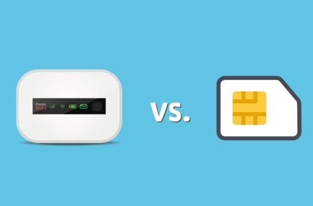 Pocket WiFi vs SIM card