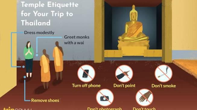 Thai Temple Etiquette