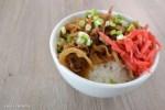 Receta: Gyudon. Cocina Japonesa. Recetas de Japón.