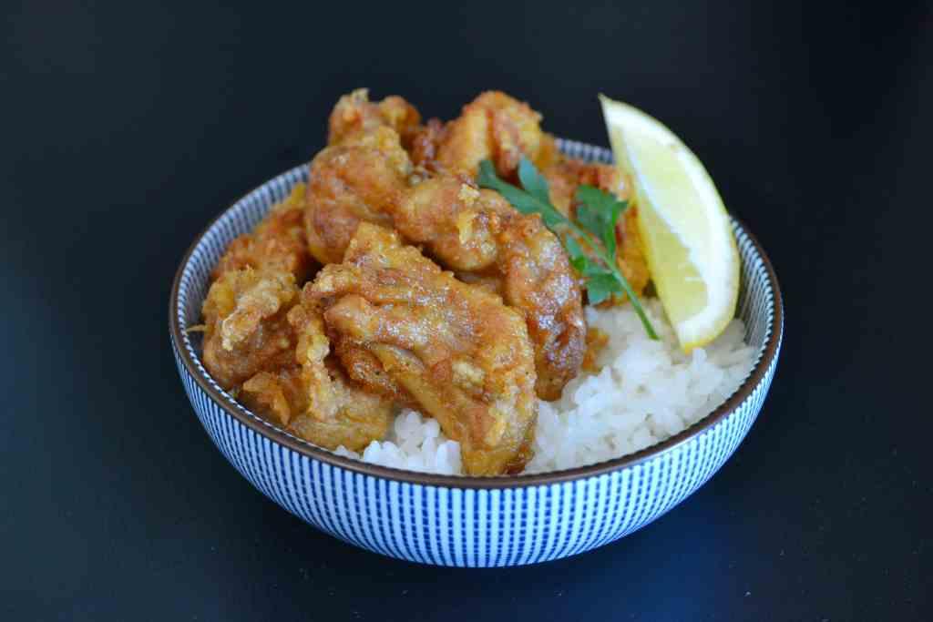 Receta Karaage, Pollo Japones frito