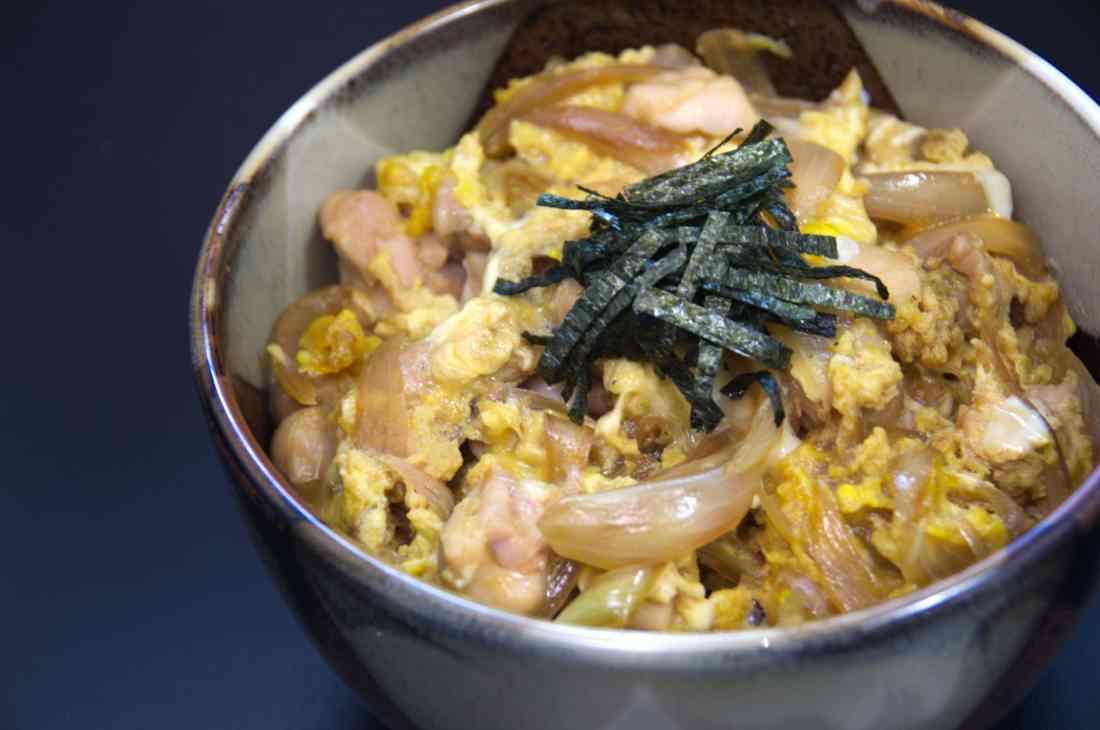 receta oyakodon, cocina japonesa
