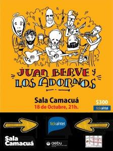 Juan Berve & Los Adornos