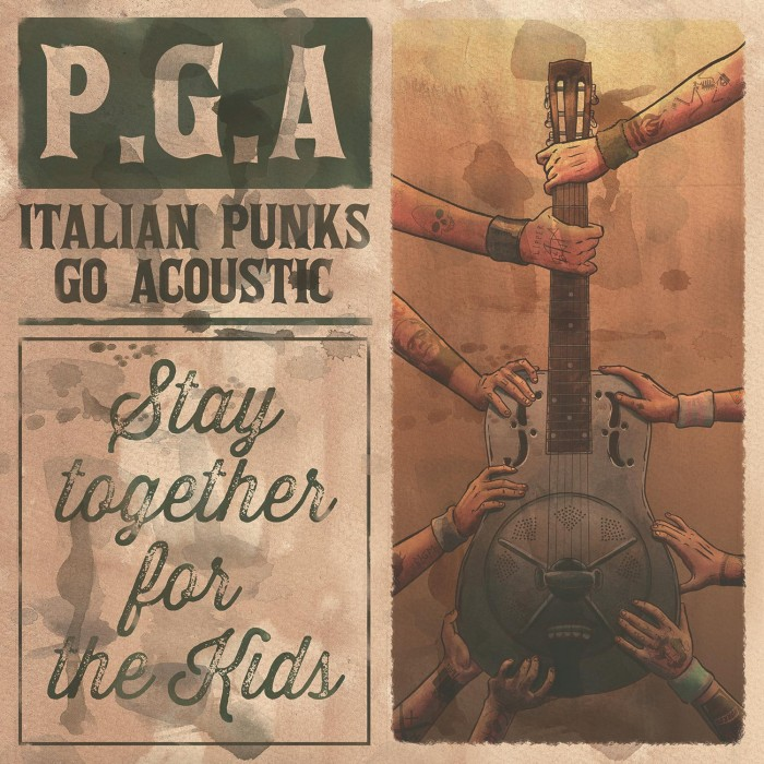 pga italian punks go acoustic stay together for the kids