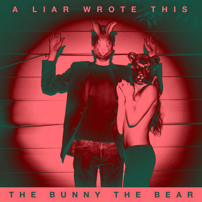 the bunny the bear a liar wrote this