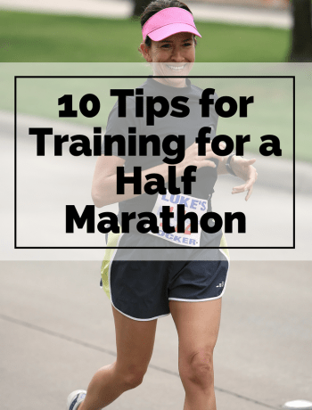 10 Tips for Training for a Half Marathon #halfmarathon #halfmarathontraining #runningtips #trainingtips #halfmarathontraining