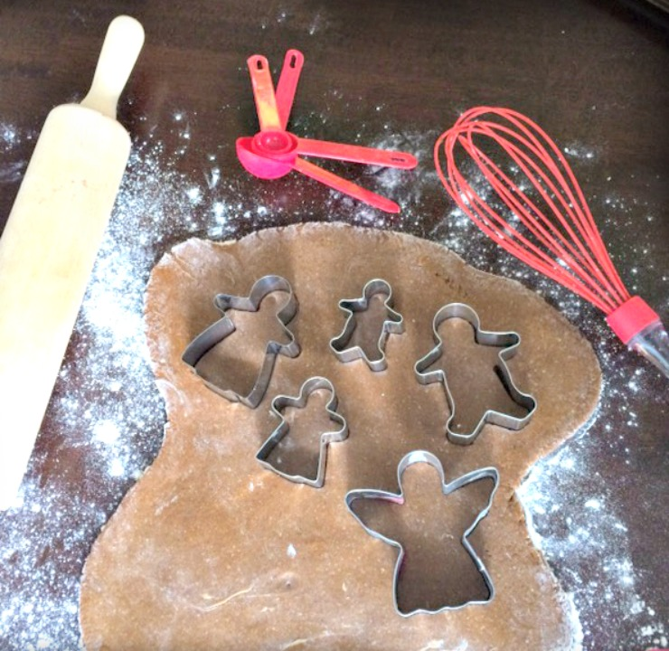 These healthier soft gingerbread cookies are sweet, soft, and lightly spiced. They will quickly become a family favorite for the holidays!