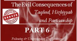 the-evil-consequencestaqleed-hizbiyyah-partisanship-part-6-feat